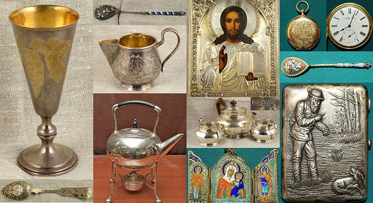 столовое серебро; скупка антикварное серебро; старинное серебро продать; икона продать; столовое серебро 84 пробы продать; серебряные монеты; серебряный значок; карманные часы продать;